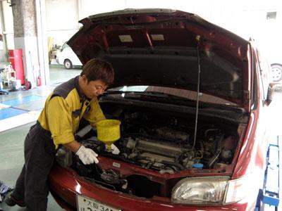 一般車両整備(乗用)